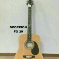Jual Gitar Akustik Scorpion FG-29 original (import) Murah