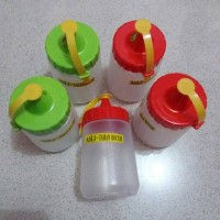 Jual Botol Kecap Kecil / Botol Saos / Tempat Saos / Tempat Kecap OWL Plast Murah