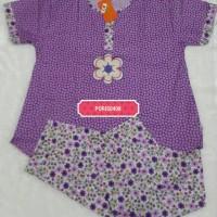 Jual Baju Tidur Wanita CP Katun Hoki & Sheila (flower4) Murah