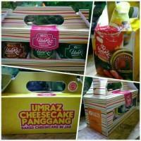 Jual PAKET HAMPERS/GIFT BOX cheesecake (isi 3 jar) Murah