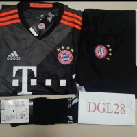 Jual Jersey Bayern Munchen Away 16/17 - Satu Set ( jersey + celana + kaos k Murah