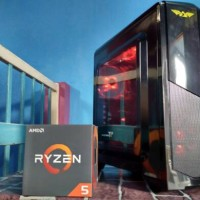 Pc Gaming AMD Ryzen 1400 Spesial With Asus ROG STRIX