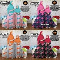 Harga jelita couple syari gamis syari long dress couple baju muslim | Pembandingharga.com