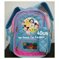 Jual Tas Anak Cewek Tsum Tsum 40cm Premium Ransel Sekolah Import Backpack Murah
