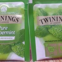 Jual Twinings of London pure peppermint / teh twinings rasa peppermint Murah