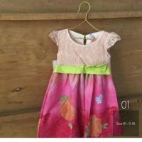 Jual Brokat Dress Anak 6T Murah