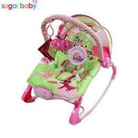 Jual Bouncer Sugar Baby 10 in 1 premium rocker little owl Murah