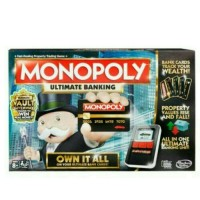 Jual MONOPOLY ULTIMATE BANKING OWN IT ALL ORIGINAL HASBRO - Game Monopoli Murah