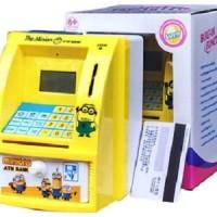 Jual Mainan Edukatif Celengan ATM Minion Murah Murah