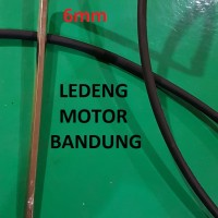6mm Heat Shrink Selang Bakar Selongsong Isolasi Pelindung Kabel 1Meter