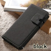 FOR IPHONE 6+ 6S+ PLUS -LEATHER FLIP WALLET CASE COVER CLASSIC SOFT