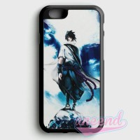 Uchiha Sasuke Sharingan Wallpaper Casing iPhone 6 Plus dan 6S Plus