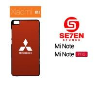 Casing HP Xiaomi Mi Note, Mi Note Pro Mitsubishi logo 2 Custom Hardcas