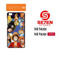 Casing HP Xiaomi Mi Note, Mi Note Pro one piece 1 7 Custom Hardcase