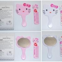 Jual Kaca Cermin Hello Kitty dan sisir Murah