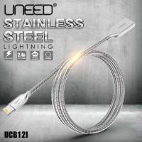 Jual UNEED Kabel Data Lightning Apple iPhone Stainless Steel [BEST SELLER] Murah