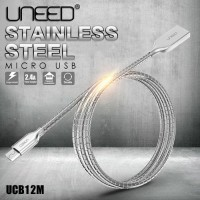 Jual UNEED Kabel Data Micro USB Stainless Steel Fast Charge [BEST SELLER] Murah