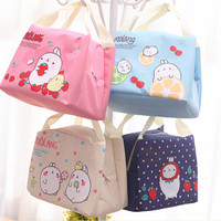 Jual 168 Lunch bag Cooler bag (bonus 2pcs jelly ice cooler) Murah