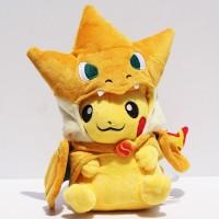Jual Boneka Pikachu Charizard Angry Boneka Pokemon Boneka Panda Stitch  Murah