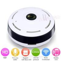 Jual Panoramic 360 Fisheye Wifi Ip Camera Mini Wireless HD P2P Murah