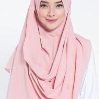 pashmina instan - hijab instan pastan warna pastel high quality