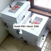 Jual Kotak Obat P3K + Kunci SSM PPPK First Aid Box Emergency Murah