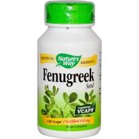 Nature's Way Fenugreek 610mg 100 VCaps (afrodisiak, antioksidan, ASI)