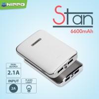 Jual Hippo Powerbank Stan 6600 mAh Simple Pack Murah