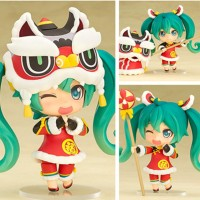 Jual Nendoroid Hatsune Miku 654 Lion Dance Ver Chinese Barongsai NEW MIB Murah