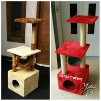Jual mainan kucing,cat toy,catscratching post,garukan kucing,cat condo,cat Murah