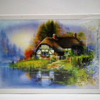 harga Nightilum Jigsaw Puzzle - Once Upon A Time In Village - 500 Pcs Tokopedia.com