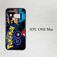 Casing Hp HTC One M10 Pokemon in Real Life X4674