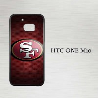 Casing Hp HTC One M10 49ers logo X4360