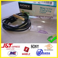 Jual Premium Kabel Charger Magnetic Sony Xperia Z1 Z2 Z3 Ultra - Cable Ori Murah