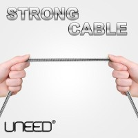 Jual Alfa Trend | Uneed Kabel Micro Usb Stainless Steel Quick Charge & Data Murah