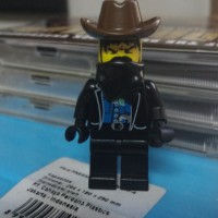 Lego minifigure - Cowboy bandit - Western