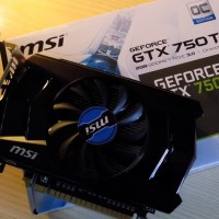 Jual VGA VIDEO CARD GPU MSI GTX 750TI 2GB GDDR5 Murah