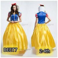 Jual ORIGINAL import dress snow white princess tile apel putri salju Murah