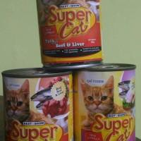 Jual Makanan Kucing Wet Food SUPERCAT 400gr MURAH! Murah