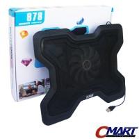 M-Tech 878 Laptop Cooling Pad Fan Pendingin Coolingpad - MTC-NC-878