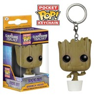 Jual Gantungan Kunci Funko Pocket Pop : Baby Groot, Guardian of the Galaxy Murah