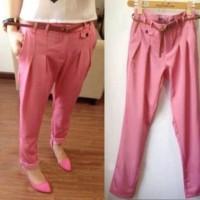 Jual Promo!! Pants Pink Sw Celana Wanita Twiscone Pink Murah