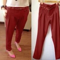 Jual Promo!! Pants Merah Sw Celana Wanita Twiscone Merah Murah