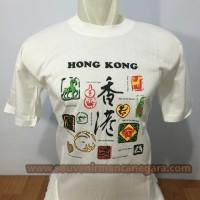Jual Kaos T-Shirt Negara Hongkong Shio  Murah