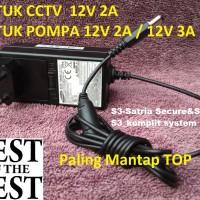 Adaptor 12v 2A Samsung untuk CCTV POMPA DLL Paling Mantap TOP