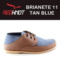 Jual SEPATU REDKNOT BRIANETE 11 TAN BLUE DENIM biru jeans tan Murah