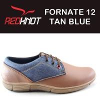 Jual SEPATU REDKNOT FORNATE 12 TAN BLUE biru jeans tan Murah