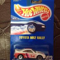 Hotwheels Toyota MR2 Rally