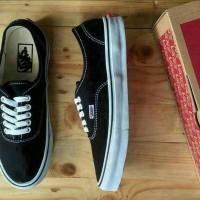 Jual Sepatu Vans Autentic Black and White Premium Murah