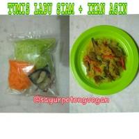 Jual Tumis Labu Siam + Ikan Asin Murah